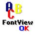 FontViewOK(字体浏览软件) V5.51 多国语言绿色版