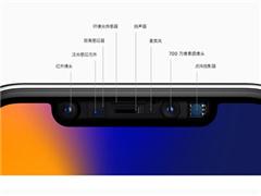 """一图看懂iPhone X""""刘海""""里的秘密:原深感摄像头系统"""