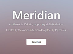 "iPhone 7也能用!开发人员发布iOS10-10.3.3越狱工具""Meridian"""