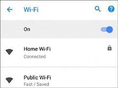 可显示公共WiFi网速!Android 8.1腾博会官网又曝新功能