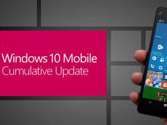 微软发布Win10 Mobile一周年更新14393.2126累积补丁(附更新日志)