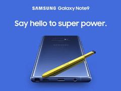 三星在新西兰开启Galaxy Note9预购页面