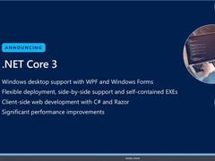 支持Win32应用!微软发布.NET Core 3.0首个预览版本(附下载地址)