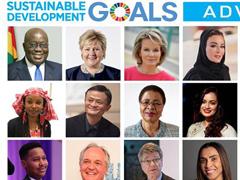 马云再度被联合国任命为全球可持续发展倡导者