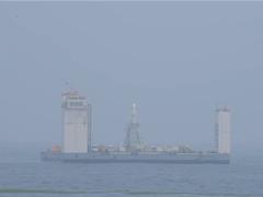 中国长征十一号火箭完成首次海上航天发射