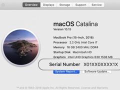 苹果未来产品序列号将使用随机字母和数字