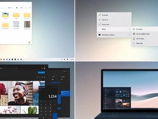 微软win10大更新将采用win 10X多项功能:两者共存,非互相取代