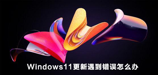 Windows11更新遇到错误怎么办?