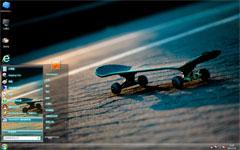 滑板win7精美主题