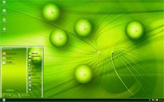 绿色能源xp桌面主题