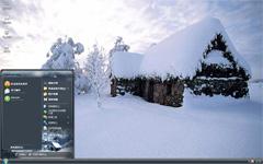 屋顶上的雪xp主题