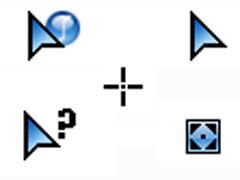 藍色水晶鼠標指針