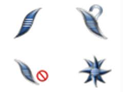 个性钩镊鼠标指针