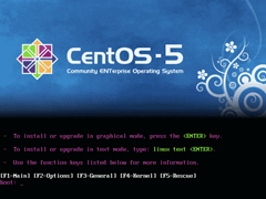 CentOS 5.5 i386官方正式版系统(32位)