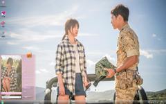 太阳的后裔甜蜜剧照Win7主题