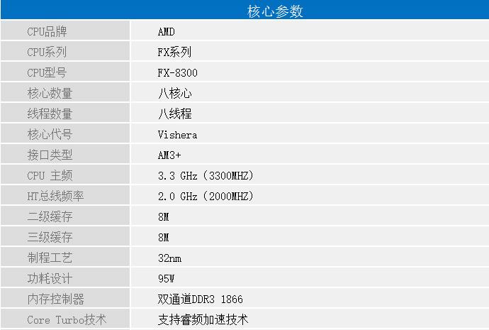 3079元电脑配置单2017:AMD FX8300+映众GTX1050TI
