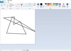 如何用windows自帶的畫圖工具畫創意圖形 用windows自帶的畫圖工具畫創意圖形的方法