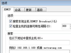 Xbrowser如何设置自动XDMCP会话?