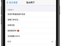 iOS 14全新功能:轻点背面详解