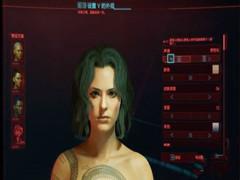 赛博朋克2077温柔女性角色捏脸数据