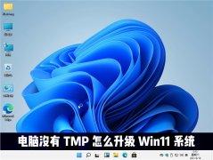 电脑没有TMP可以升级win11系统吗?Win11怎么绕过TMP进行安装?