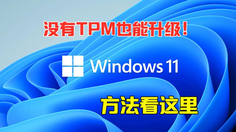 Win11怎么升级TPM Win11没有TPM怎么升级