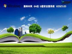 雨林木风Win7 64位U盘安全版系统 V2021.03