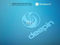 深度技术Win11 64位专业优化版 V2021.09